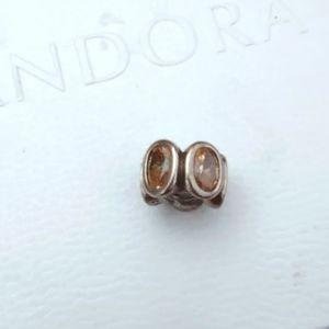 Pandora Citrine Crystal Bead